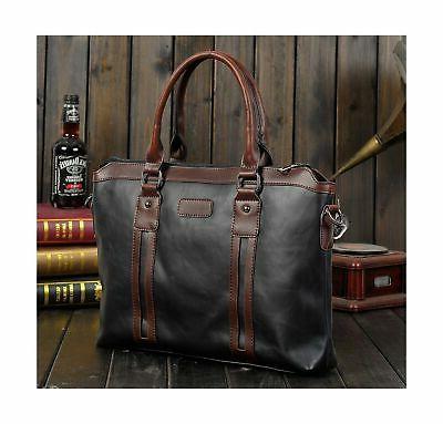 Berchirly Laptop Messenger Bag Detachable Strap