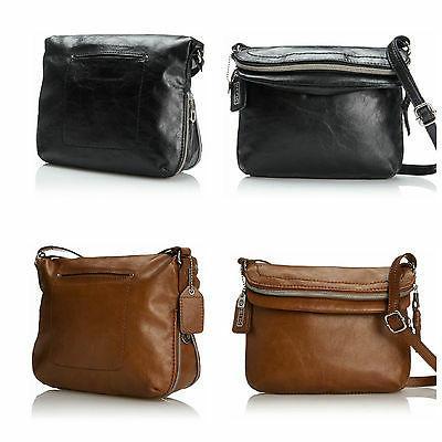 Relic Fossil Women's Cross Body Messenger Bag Black,Brown Purse