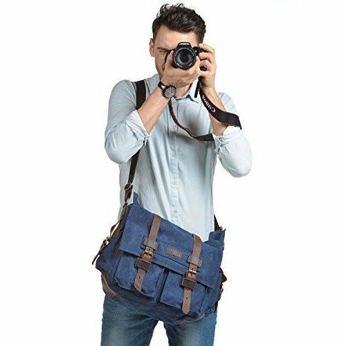 Camera Bag Mens SLR Vintage