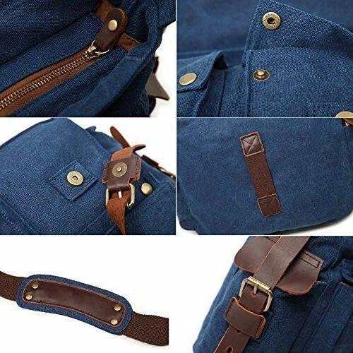 Camera Messenger Bag Mens Leather SLR