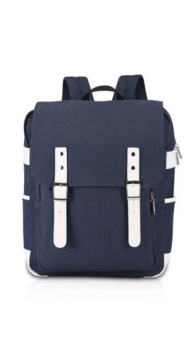 ibagbar Canvas Backpack Casual Daypack Blue