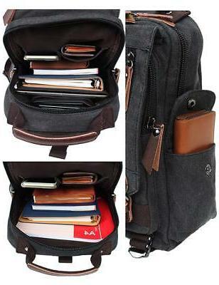 Mygreen Cross Body Messenger Bag Shoulder Backpack