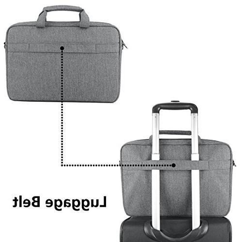 KROSER Inch Briefcase Messenger Bag Water Repellent Bag Satchel Bussiness Carrying