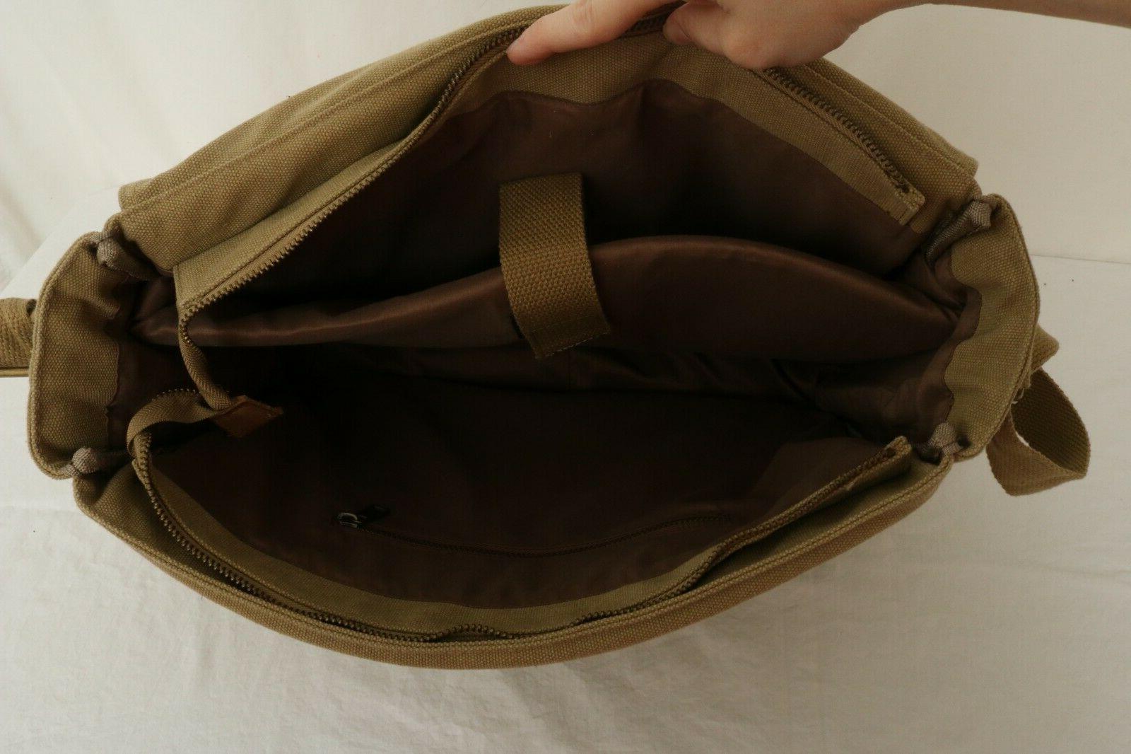 Sweetbriar Canvas Business Casual Messenger Bag