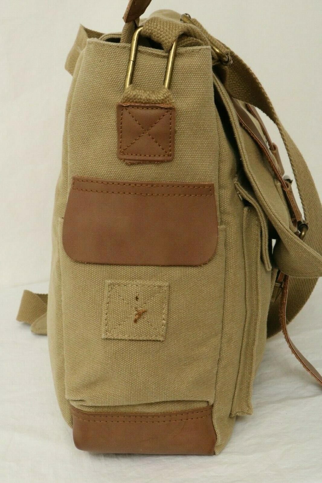 Sweetbriar Canvas Laptop Business Bag