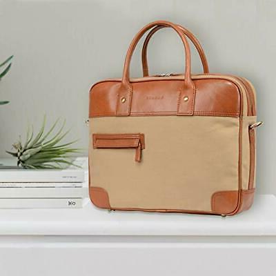 Banuce 14 Inch Briefcase for Shoulder