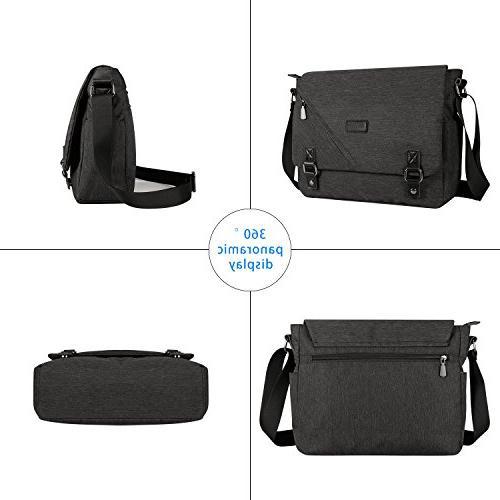 ibagbar Messenger Sling Bag Briefcase 14 Inch Laptop Women