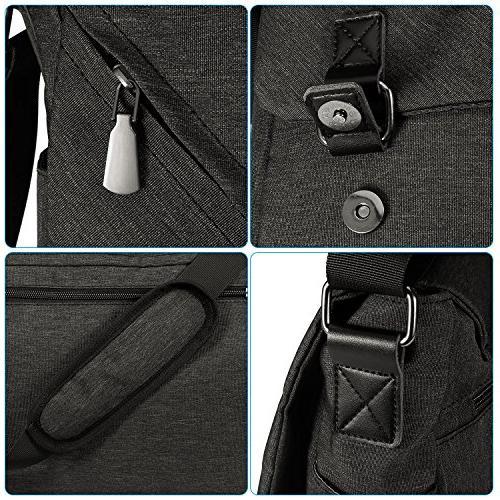 ibagbar Resistant Messenger Bag Satchel Crossbody Sling Bag Bookbag Briefcase Inch Laptop Women