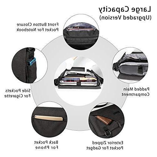 ibagbar Bag Shoulder Sling Working Bag Briefcase Fits 14 Inch Laptop for Women