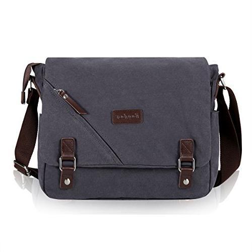 canvas messenger bag shoulder