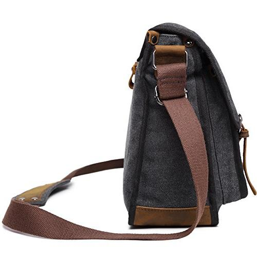 Canvas Bag For Military Tactical Field Crossbody 15.6 Laptop