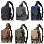 Canvas Outdoor Leaper Message Sling Bag Cross Body Bag Messe