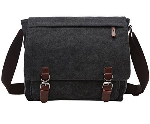 casual canvas messenger cross bag