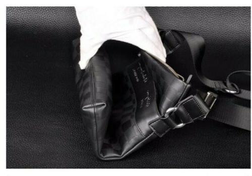 Casual Leather Crossbody Messenger Bag Satchel