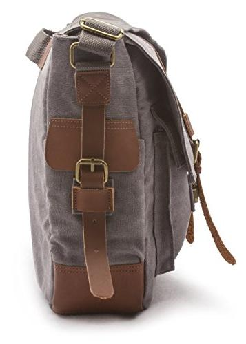 Sweetbriar Classic Bag, Gray Pack Designed to Protect Laptops to Inches