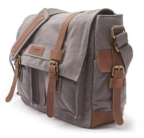 Sweetbriar Bag, Gray - Laptops up to Inches