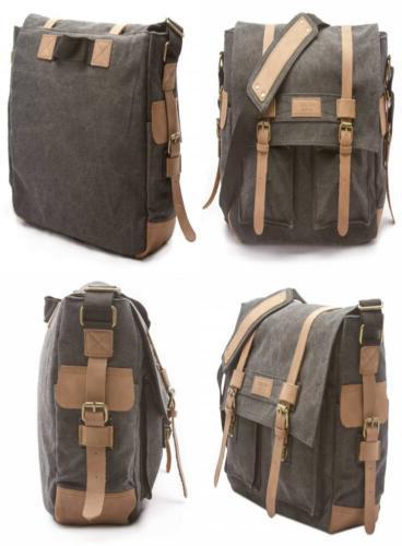 Sweetbriar Classic Laptop Messenger Bag, Black - Canvas Pack
