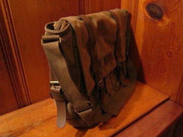 Sweetbriar Briefcase Brown Shoulder