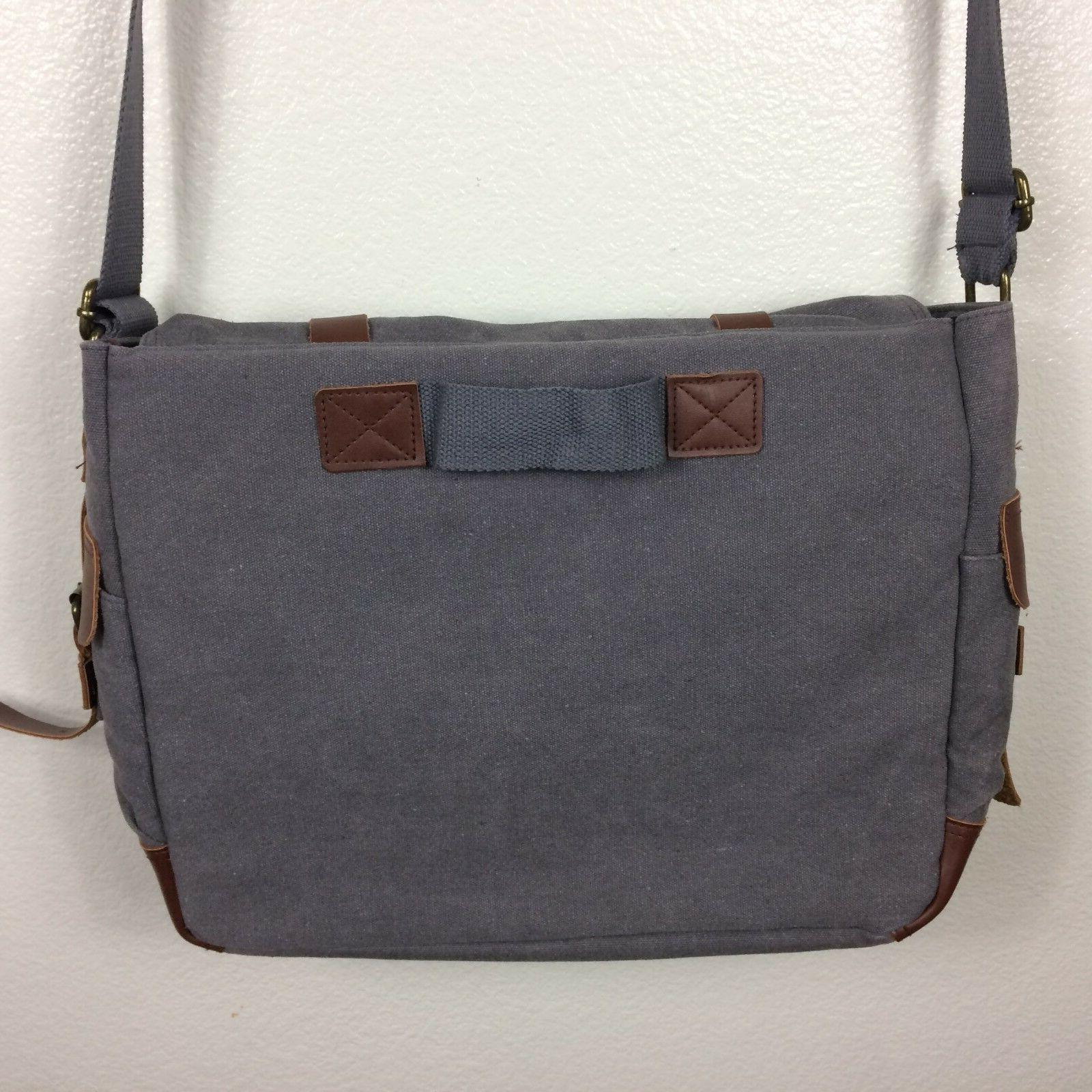 Sweetbriar Classic Bag Gray Brown Leather