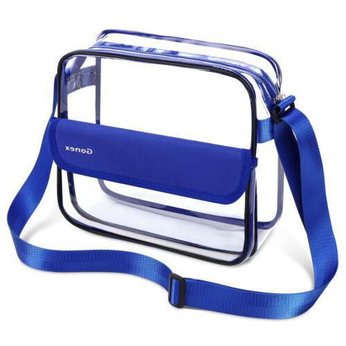 Clear NFL Stadium Shoulder Bag