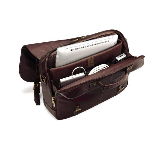 Samsonite Flap-Over Messenger Bag, Brown