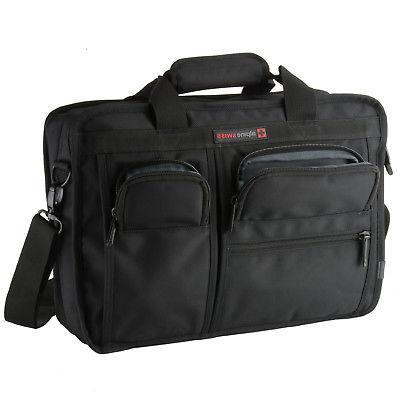 Alpine Swiss Bag Briefcase with Sleeve