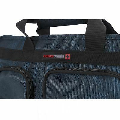 Alpine Swiss Conrad Bag 15.6 Briefcase with Sleeve