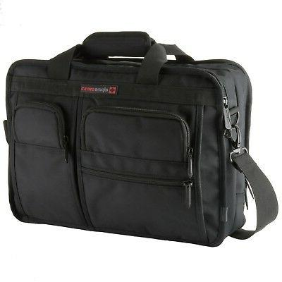 Alpine Conrad Messenger Bag Briefcase with Tablet