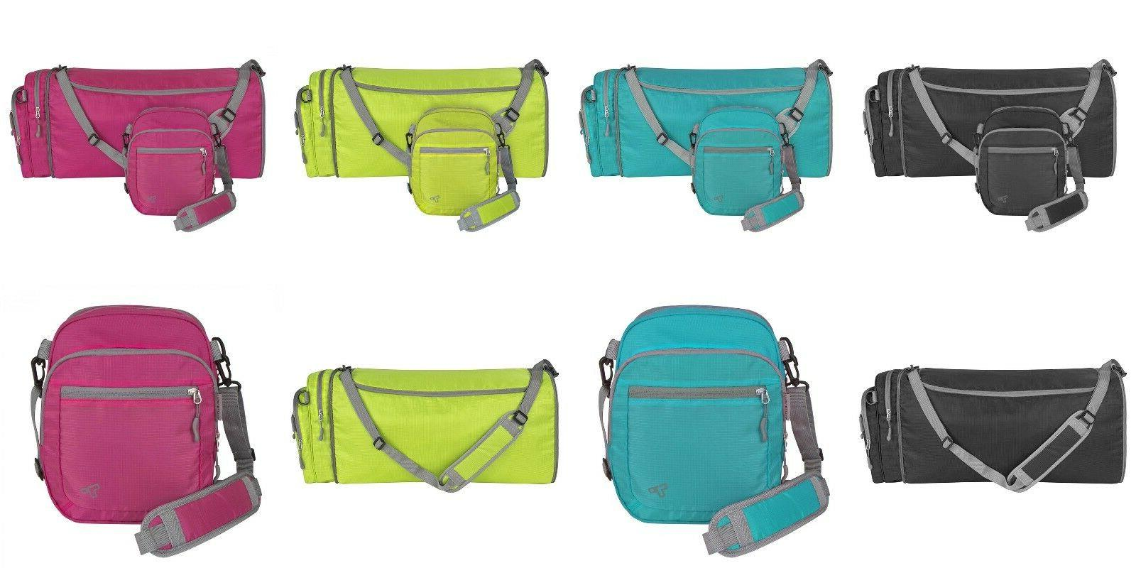 Travelon Convertible 2-in-1 Crossbody Messenger Travel to Du