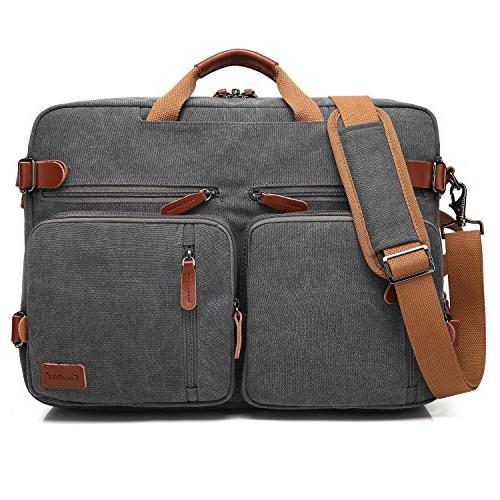 CoolBELL Backpack Messenger Bag Case Business Multi-Functional Rucksack 17.3 Inch Laptop Men/Women
