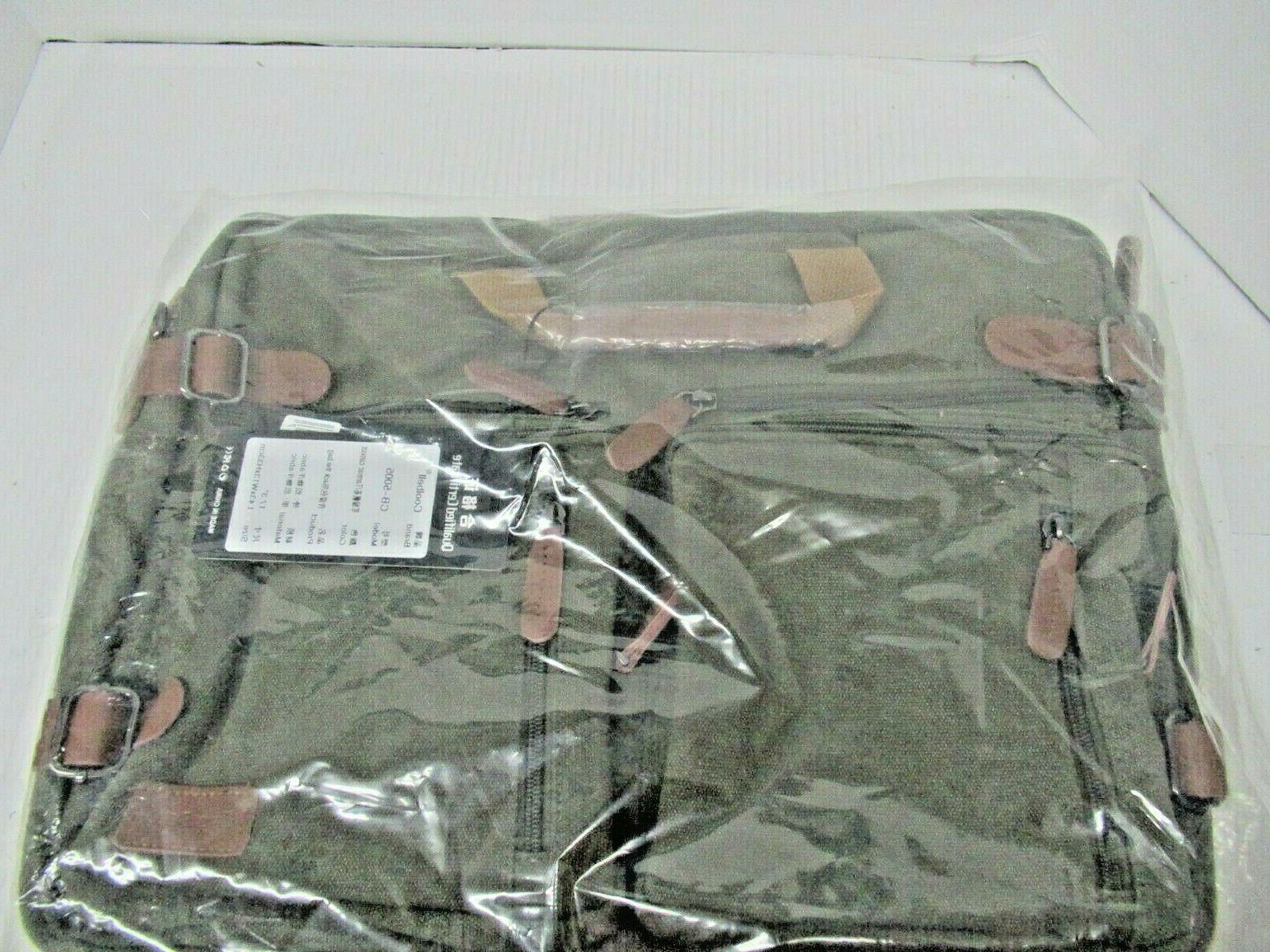 convertible backpack messenger bag shoulder