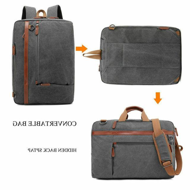 CoolBELL Backpack Messenger Shoulder Fits Laptop