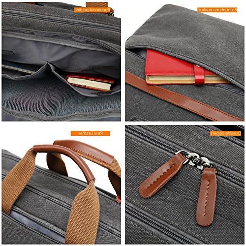 CoolBELL Bag Messenger Case Business Leisure Handbag Fits Inch Laptop for Men/Women