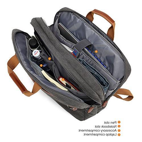CoolBELL Bag Bag Laptop Case Business Handbag Multi-Functional Rucksack Fits Inch for Men/Women