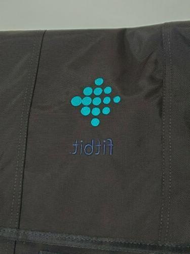 Timbuk2 crossbody-laptop messenger bag FitBit embroidery