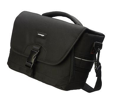 dslr gadget bag gray interior