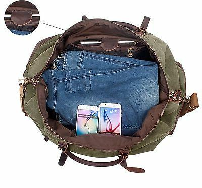 Duffel Bag Large Canvas and