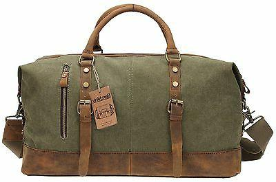 Duffel Bag Berchirly Canvas and Carryon Army