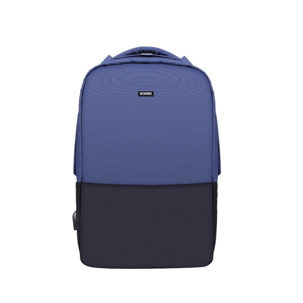 FA- School Backpack Casual Daypack Slim Shoulder Charging