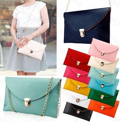 fashion women handbag pu shoulder messenger bag