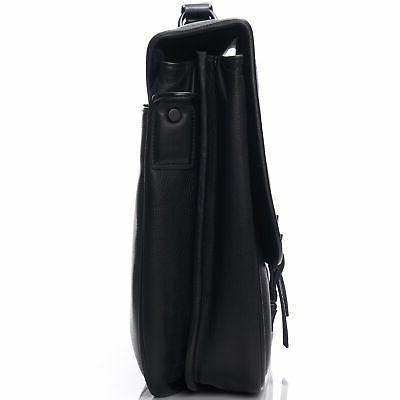 """Alpine Swiss 15.6"""" Flap Over Messenger Bag"""