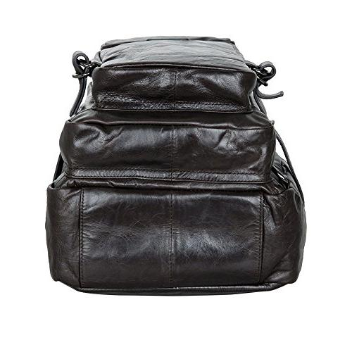 Berchirly Travel Leather Bag