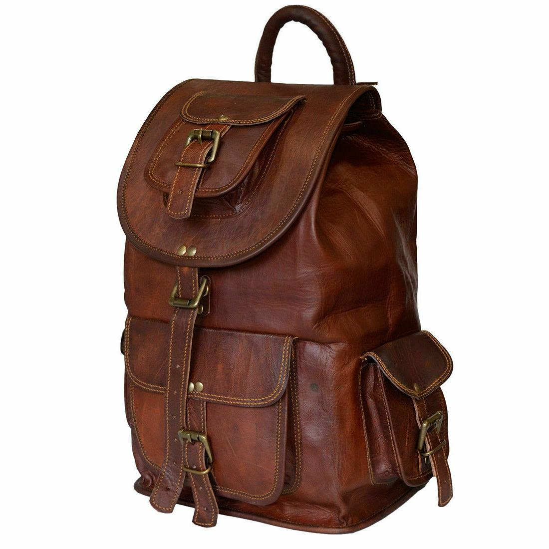 Genuine Leather Casual College Messenger