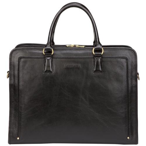 grains leather briefcase messenger satchel