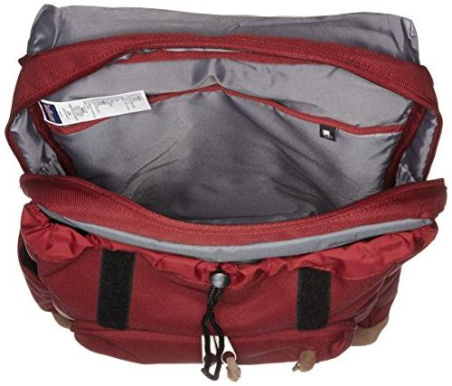 JanSport Backpack Viking Red Laptop Backpacks