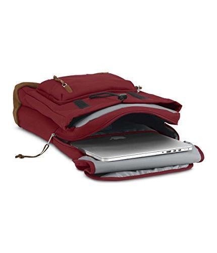 Red Backpacks