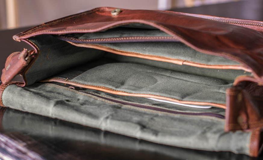 High Quality Bag Genuine Laptop Men's