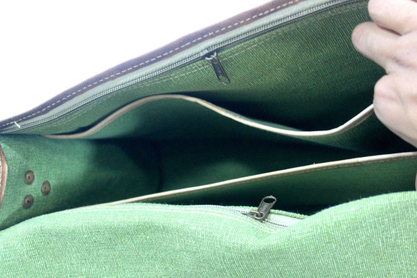 High Messenger Genuine Vintage Leather Laptop