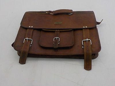 Handmade World JL 03 - Distressed Leather Messenger Bag