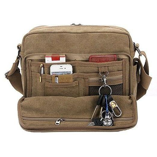 Kenox Multifunctional Canvas Crossbody Working